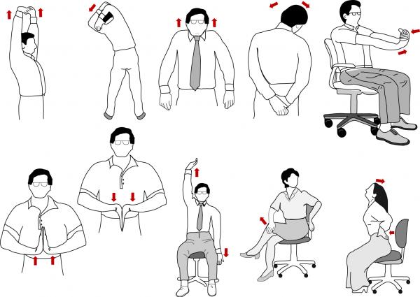 Dicas de ergonomia para quem usa muito o computador