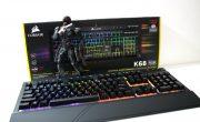 Análise: Teclado mecânico Corsair K68 RGB