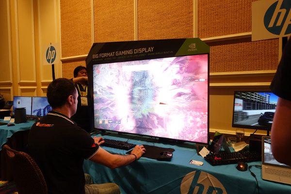 Monitor 4K HDR de 65pol da parceria NVIDIA e HP