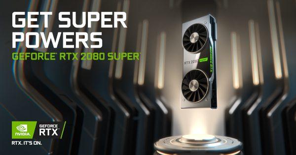 Chegaram as Geforce RTX Super