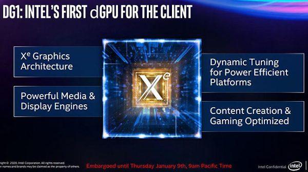 Primeiras imagens da GPU dedicada Intel DG1